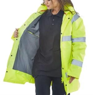 Fleece Lined Traffic Jacket