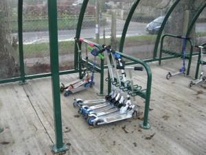 Kids Scooter Rack