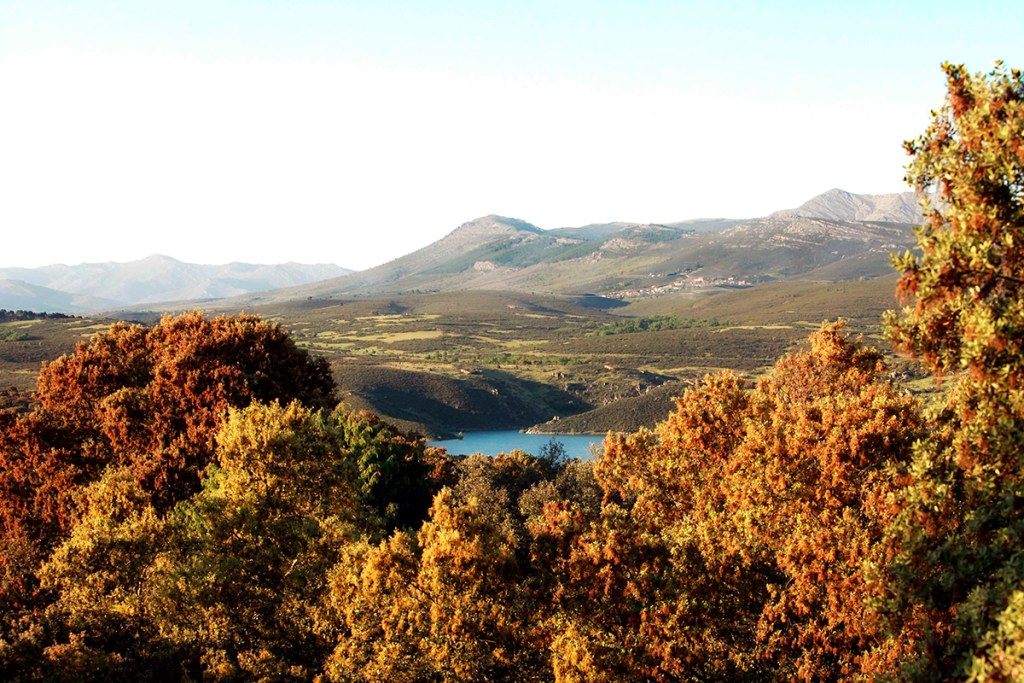 Vista Embalse del Atazar