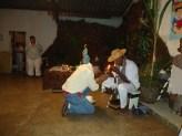 Sacerdote Irbs Santos Ministra Passe na Festa do Pai Joaquim D'Angola_2010 (2)