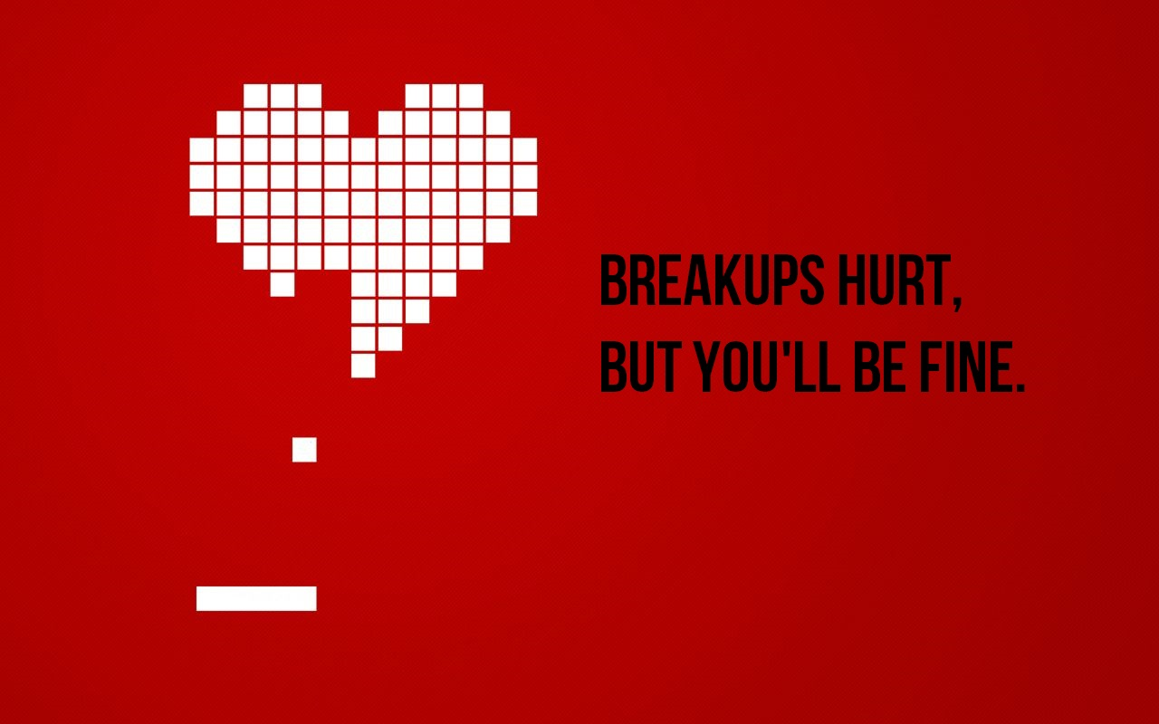 How to get over the hurt of a breakup