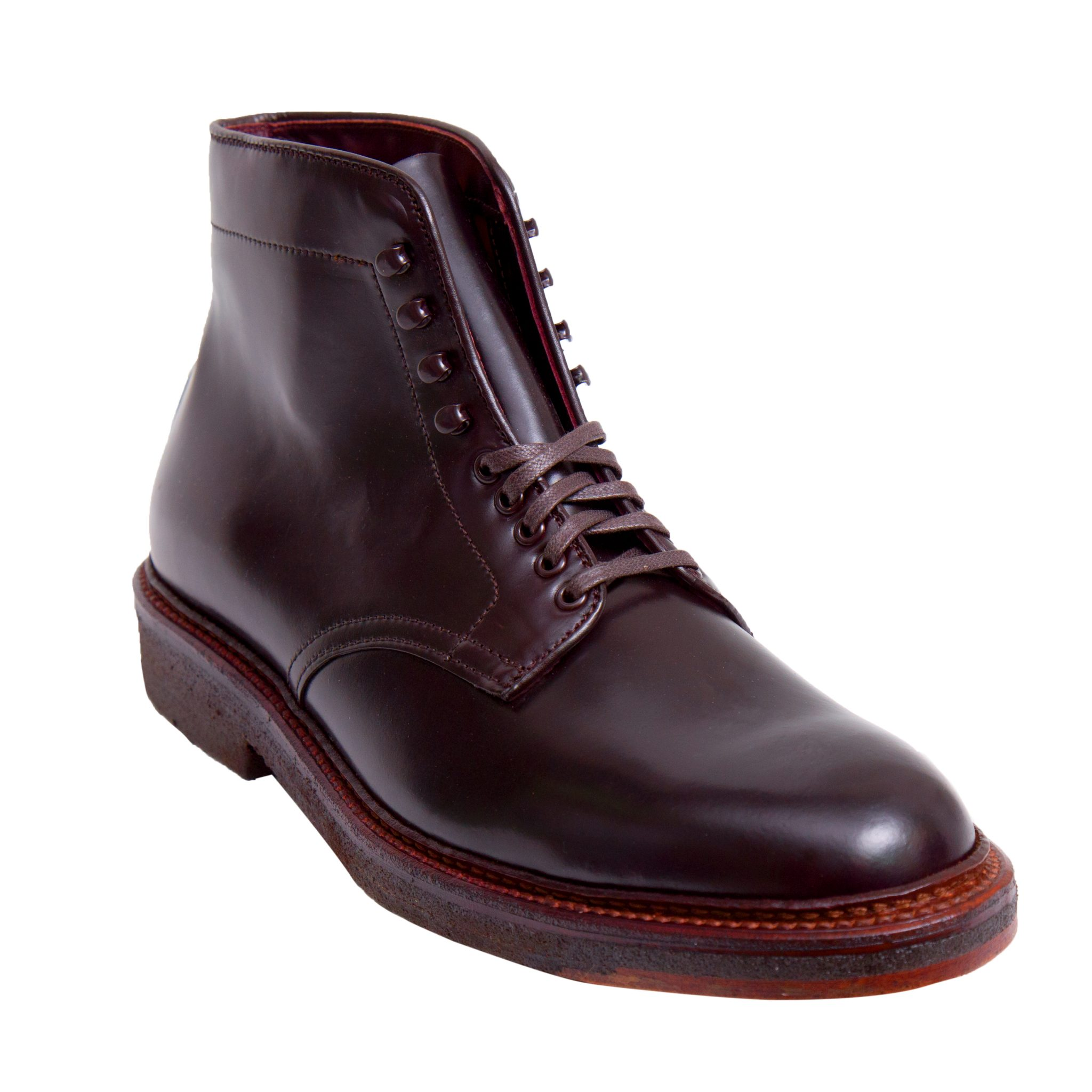 shell cordovan alden shoes