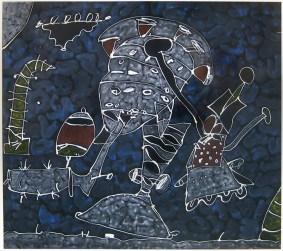 Mayan Man / 1977 / Unknown Size / AP
