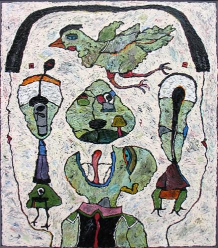 1990 - Acrylic on Canvas