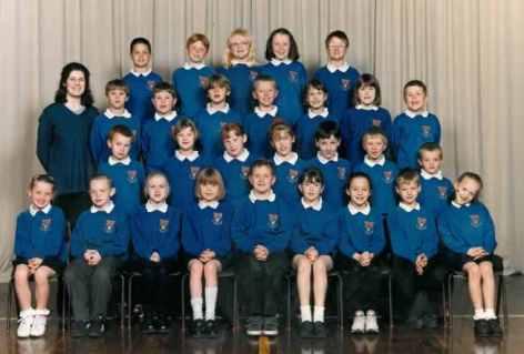 Miss Payne's Class 2000.