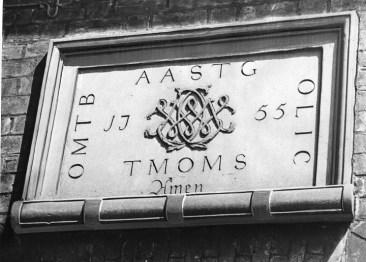 1947 Inscription in stone.