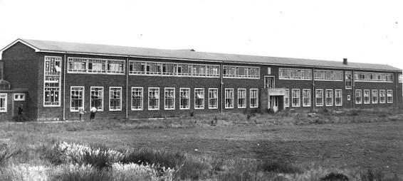 New school building 1957.