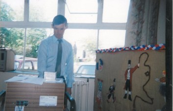 Mr J. Prosser - 1980's. Mr Prosser worked at the school from 1975 until 2011.