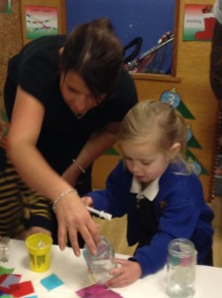 Christmas Activities in the Nursery