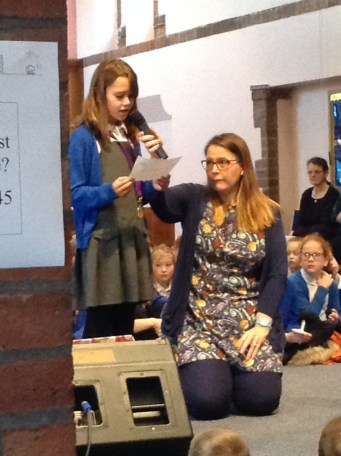 Our Christingle service at St. Aidan's Church