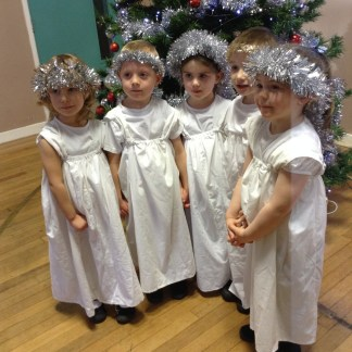 Foundation Stage 2 Christmas Performance of 'Busy, Busy Bethlehem'