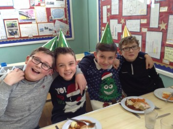 Whole school Christmas lunch