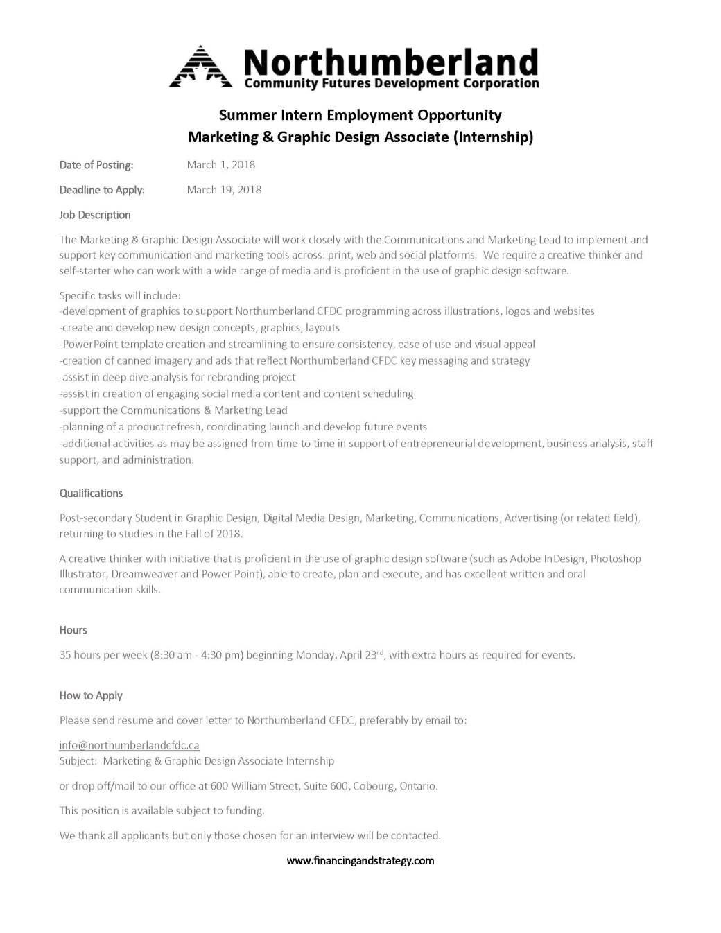External Internship PAID – Marketing and Graphic Design Associate