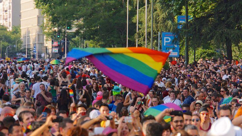 Manifestación LGTB Madrid