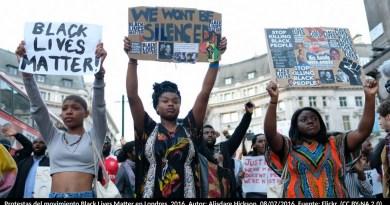 Protestas del movimiento Black Lives Matter en Londres, 2016. Autor: Alisdare Hickson, 08/07/2016. Fuente: Flickr. (CC BY-NA 2.0