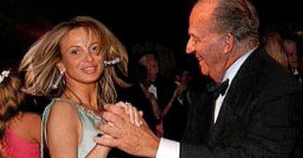 Corinna y Juan Carlos I en una foto de archivo