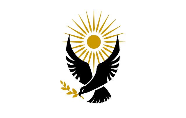 Recreación del logotipo usado por Los Hijos de Jacob y la República de Gilead en la serie The Handmaid's Tale. Autor: Desconocido. Fuente: The Handmaid's Tale Fandom Wiki.