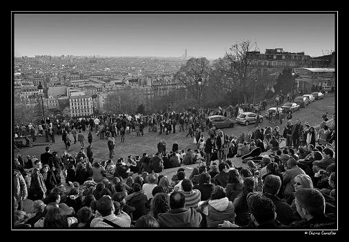 Concentración estudiantil durante las protestas francesas de mayo de 1968. Autor: Chema Concellón. Fuente: Flickr. (CC BY-NC-ND 2.0.).