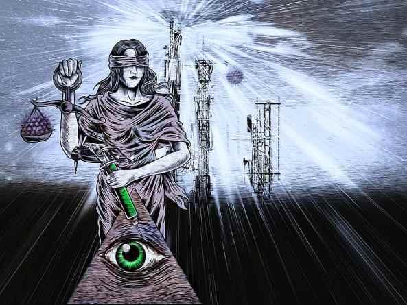 Imagen donde se juntan varias teorías de la conspiración. Autor: desconocido. Fuente: pikist