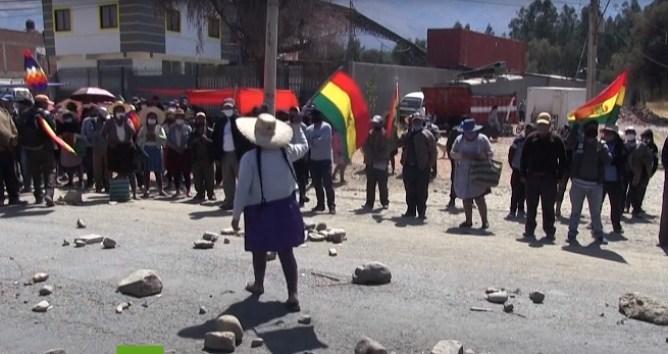 Bolivia continúa luchando