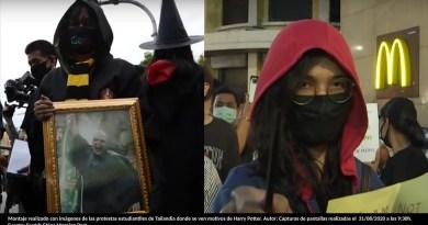 Tailandia: Jóvenes inspirados en Los Juegos del Hambre y Harry Potter plantan cara al gobierno