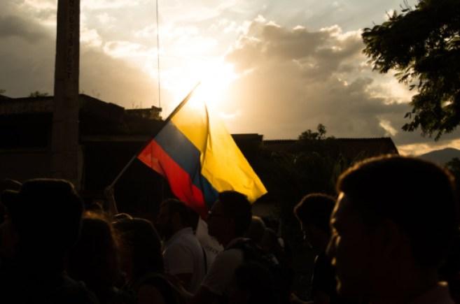 Manifestación en Colombia donde se producen abusos policiales. Autor: Leon Hernandez. Fuente: Flickr. (CC BY-NC-ND 2.0)