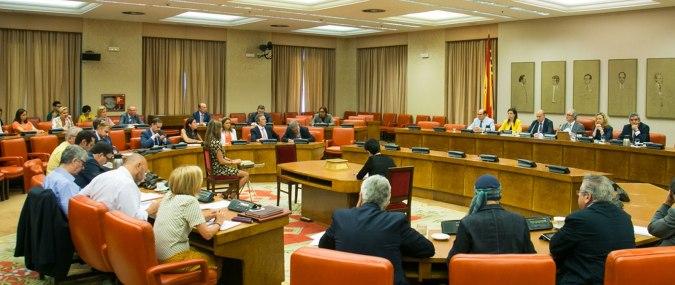 Debate en una Comisión del Congreso de los Diputados en España. Autor y fuente: Maldita.es. (CC BY-SA 3.0.)