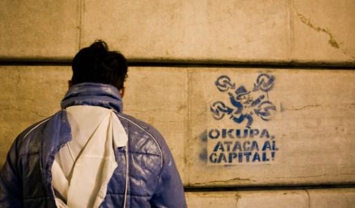Movimiento okupa. Autor: Gaelx, 01/11/2008. Fuente: Flickr. (CC BY-SA 2.0.)