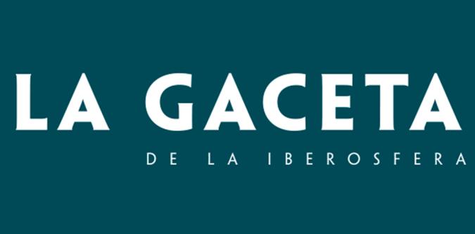 Logo de la Gaceta de la Iberoesfera. Autor: La Gaceta de la Iberoesfera. Fuente: https://gaceta.es/