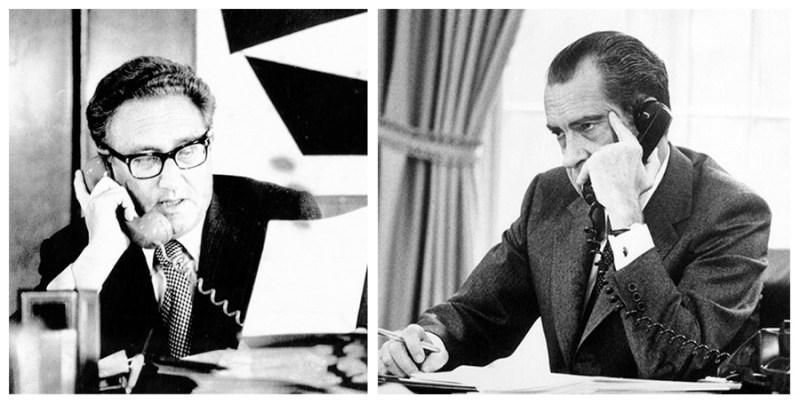 Conversación telefónica entre el Presidente Richard Nixon y el secretario Henry Kissinger sobre Allende. Autor: National Security Archive, 1970. Fuente: nsarchive.gwu.edu