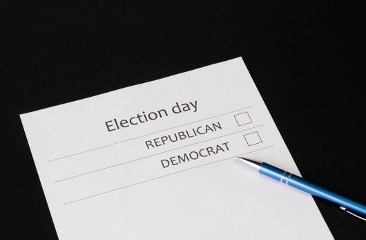 Partido demócrata vs. Partido republicano en las elecciones estadounidenses. Autor: Marco Verch, 24/10/2019. Fuente: Elsaltodiario. (CC BY 2.0)