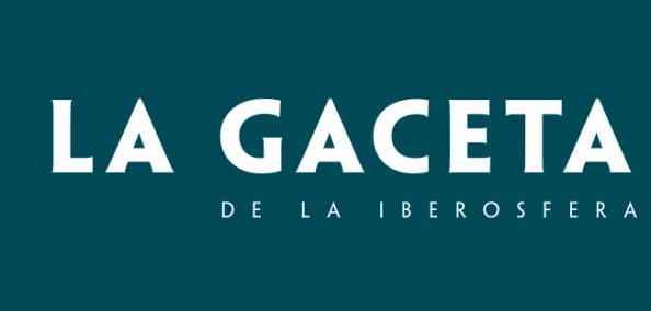 Logo de la Gaceta de la Iberosfera. Autor: LA Gaceta de la Iberosfera. Fuente: https://gaceta.es/