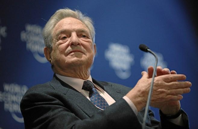 George Soros en Davos. Autor: Michael Wuertenberg., 27/01/2010. Fuente: Flickr (CC BY-NC-SA 2.0)