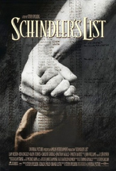 Póster de la película La lista de Schindler. Autor: Universal Pictures, 1993. Fuente: maandvandegeschiedenis.nl (CC BY-SA 4.0.) / Fair Use