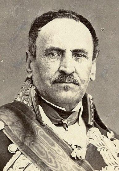 Baldomero Espartero, general y político español, hacia 1865.Autor: J. Laurent (colección Fernando Rivero, 25/12/2020). Fuente: El País (CC BY-SA 4.0)