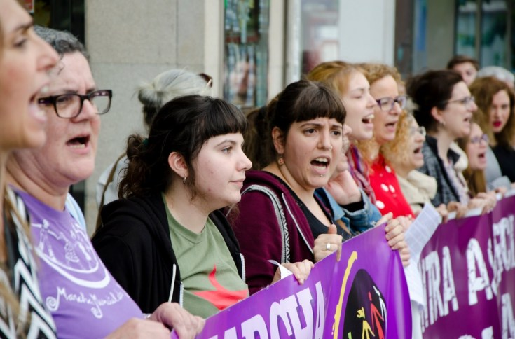 Manifestación feminista. Autor: Galiza Contrainfo, 20/06/2018. Fuente: Flickr (CC BY-NC-SA 2.0.) feminismo