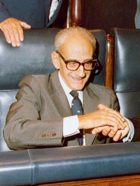 Manuel Gutiérrez Mellado, vicepresidente del gobierno durante el golpe de estado del 23F. Autor: Ministerio de la Presidencia, 12/09/1980. Gobierno de España (Pool Moncloa). Fuente: Lamoncloa.gob.es (CC BY 2.0.)