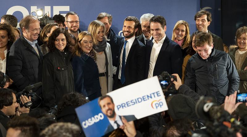 Noche electoral del 10N en Génova. Autor: PP Comunidad de Madrid, 11/11/2019. Fuente: Flickr (CC BY 2.0)