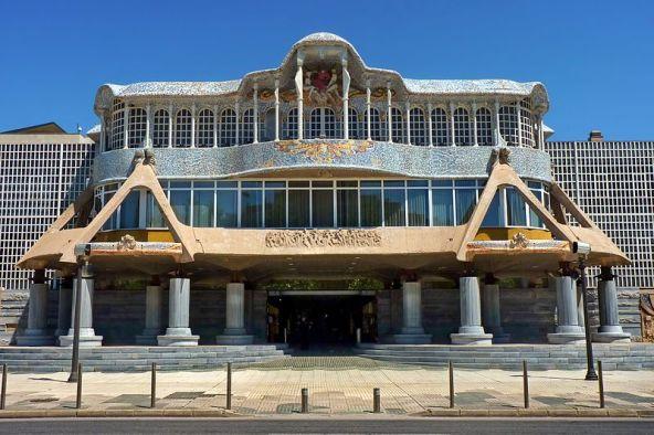 Edificio de la Asamblea Regional de Murcia, parlamento autonómico situado en Cartagena (España). Autor: Enrique Freire, 09/05/2011. Fuente: Flickr. (CC BY 2.0). moción de censura
