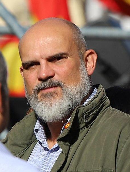 """Victor Manuel Sánchez del Real, supuesto contacto de """"El Francés"""". Autor: Thomas Holbach, 26/10/2019. Fuente: Wikimedia Commons (CC BY-SA 4.0.)"""