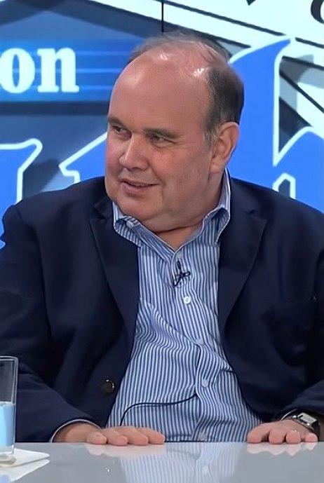 """Rafael López Aliaga """"Porky"""" durante una entrevista en el programa """"Rey con Barba"""" . Autor: Rey con Barba, 24/01/2021. Fuente: Youtube. (CC BY 3.0)."""