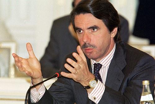 El primer ministro José María Aznar de España en la cumbre Rusia-UE. Autor: Oficina de Información y Prensa Presidencial, 29/05/2002. Fuente: Kremlin.ru (CC BY 4.0)