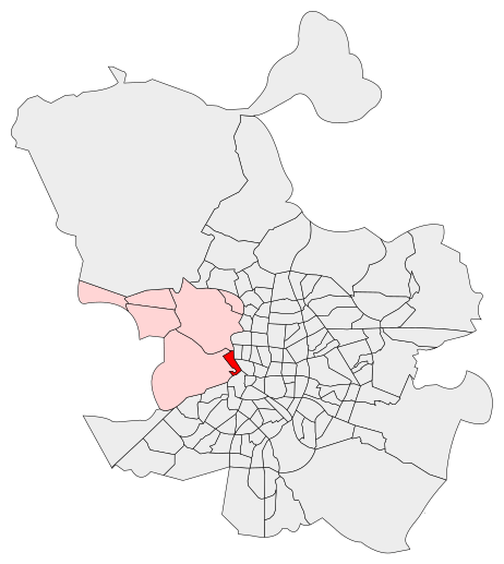 Barrio de Argüelles. Distrito de Moncloa-Aravaca (Madrid). Autor: Asqueladd, 12/10/2016. Fuente: Wikimedia Commons (CC BY-SA 3.0)