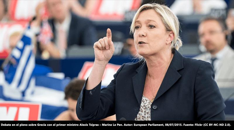 La policía y los militares franceses con Le Pen: un 60% la votará en 2022