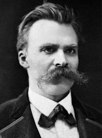 Retrato de Friedrich Nietzsche en 1875