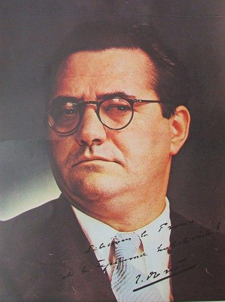 Fotografía de Jacques Doriot, dirigente del fascista Partido Popular Francés
