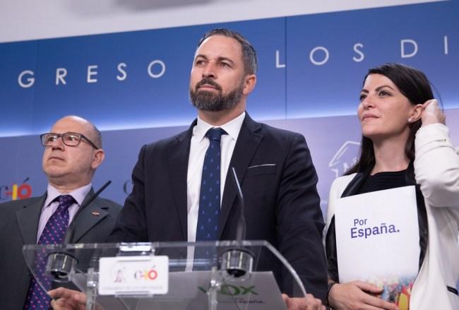 Vox solicita el informe sobre las negociaciones de José Luis Rodríguez con ETA. Autor: Vox España, 03706/2019. Fuente: Flickr