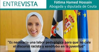 """Fátima Hamed Hossain: """"Es necesaria una labor pedagógica para que no cale el discurso racista y xenófobo en la juventud"""""""