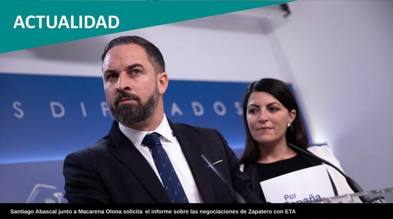 Vox exige un adelanto electoral en Andalucía y avisa que no negociará los presupuestos con el PP