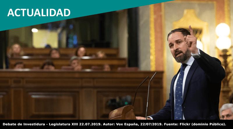 Vox impide la condena en el Congreso de la manifestación fascista en Chueca contra las personas LGTBI